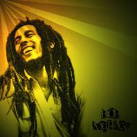 Bob Marley by LadyNutella