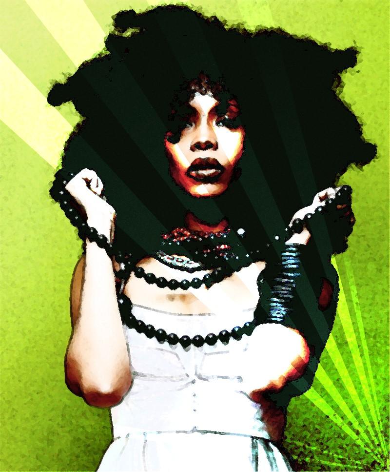 Erykah Badu 2 by LadyNutella