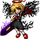 Pixel Art - Last Word Rumia by Adeshark