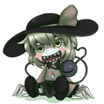 Heart throbbing Koishi