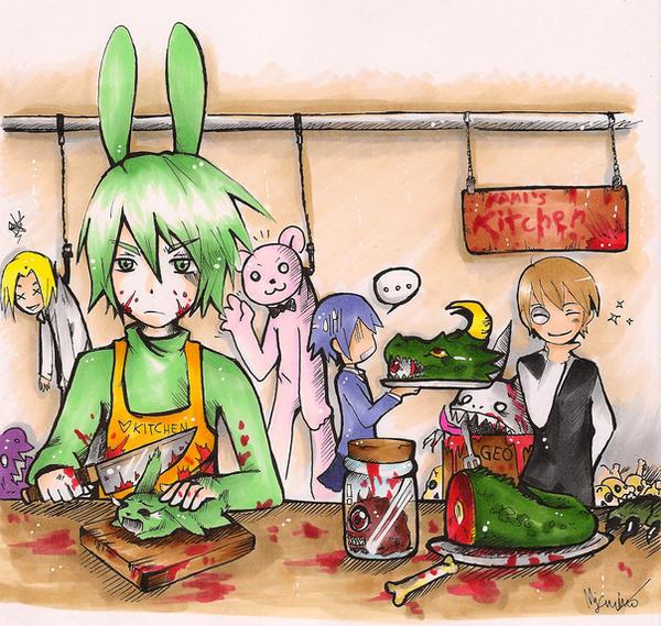 Kami's kitchen by SuperMisurino