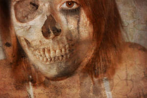 Older Work 02 - Skull-Face Girl