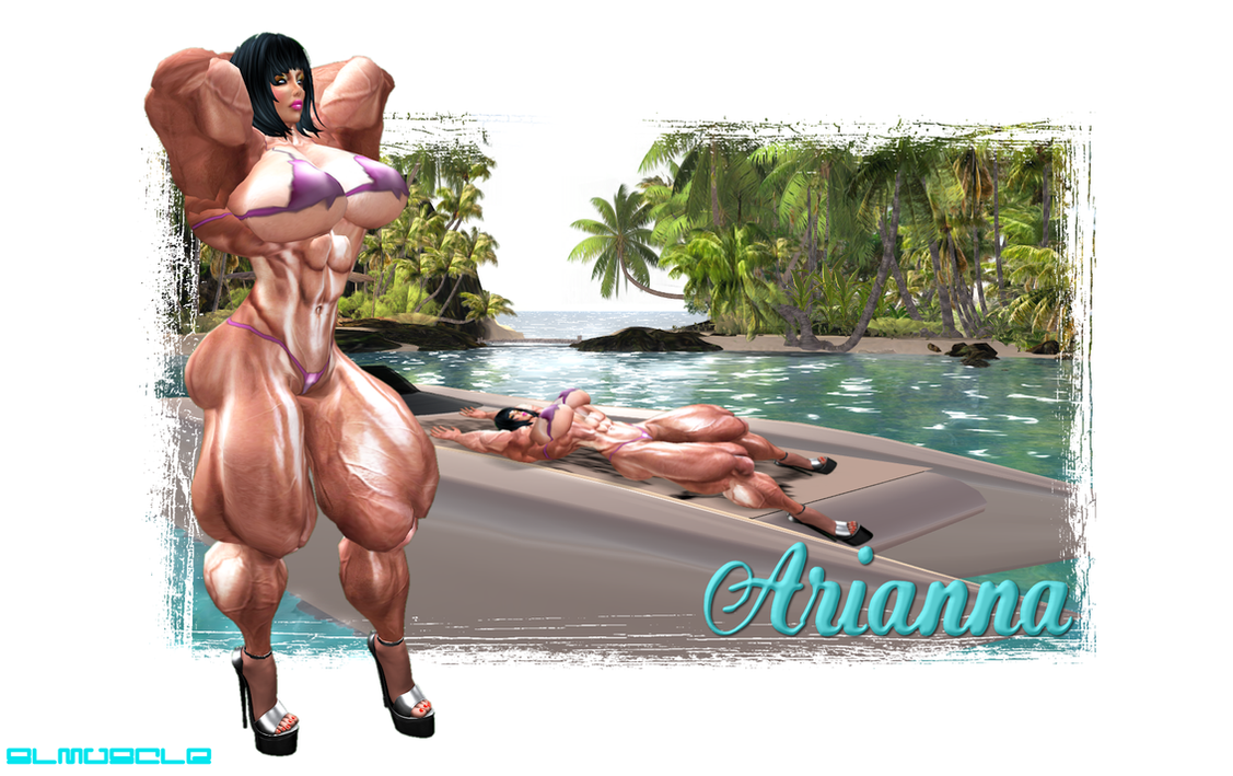 BEACH MUSCLE: ARIANNA by SLMUSCLE