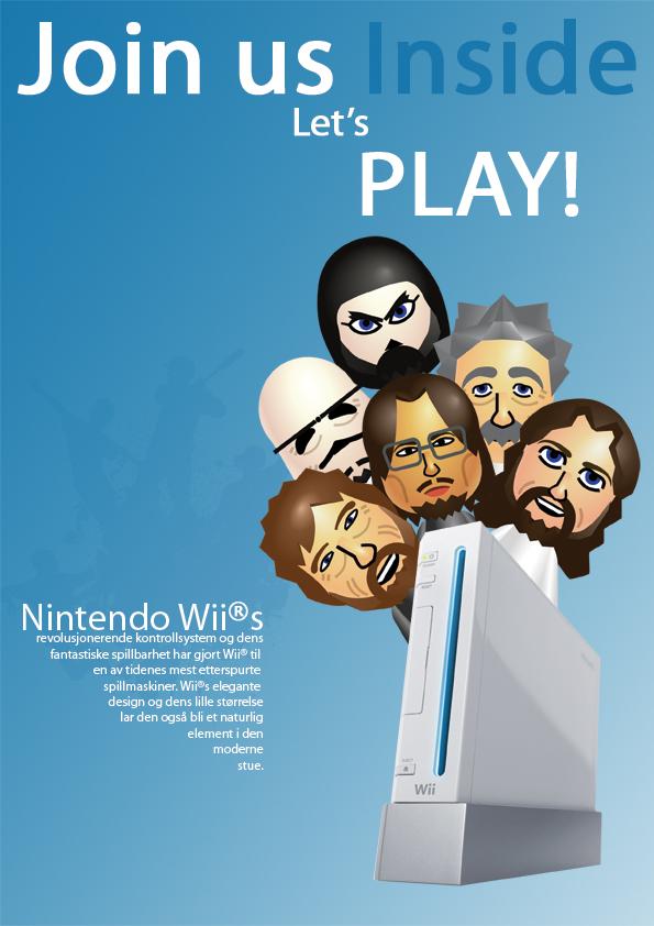 Wii Magazine Advertisement by simen91 on DeviantArt