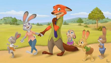 Meet the Hoppses by MisterLuca