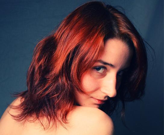 Redhead by MsBlackbird
