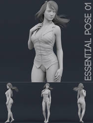 Essential Pose 01 by OneSix3d
