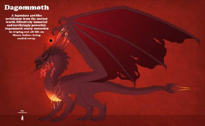 the red magma dragon by longshotswiftshadow