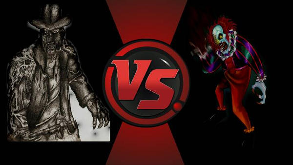 Pennywise it vs Creeper from Jeepers Creepers by longshotswiftshadow