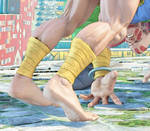Dhalsim Feet