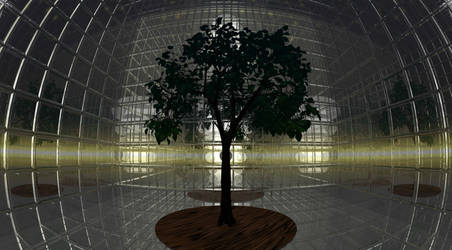 Mirrored Green House? by Chris-Reddinger