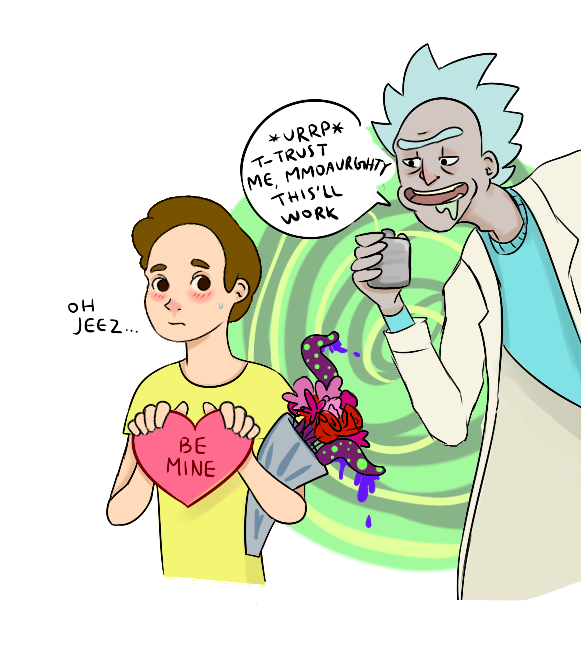Rick And Morty Valentines