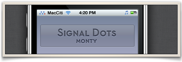 Signal Dots by montydesi