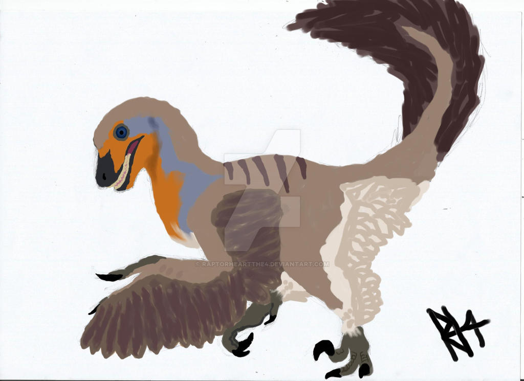 Deinonychus by RAPTORHEARTthe4