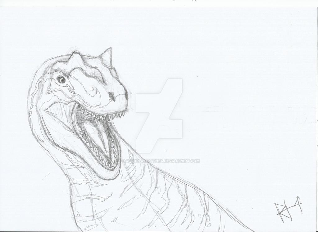 Allosaurus by RAPTORHEARTthe4