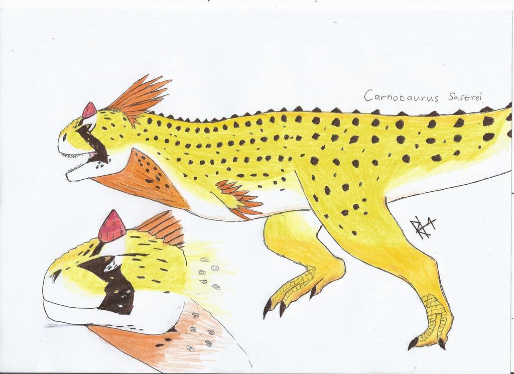 Carnotasaurus Sastrei MALE by RAPTORHEARTthe4