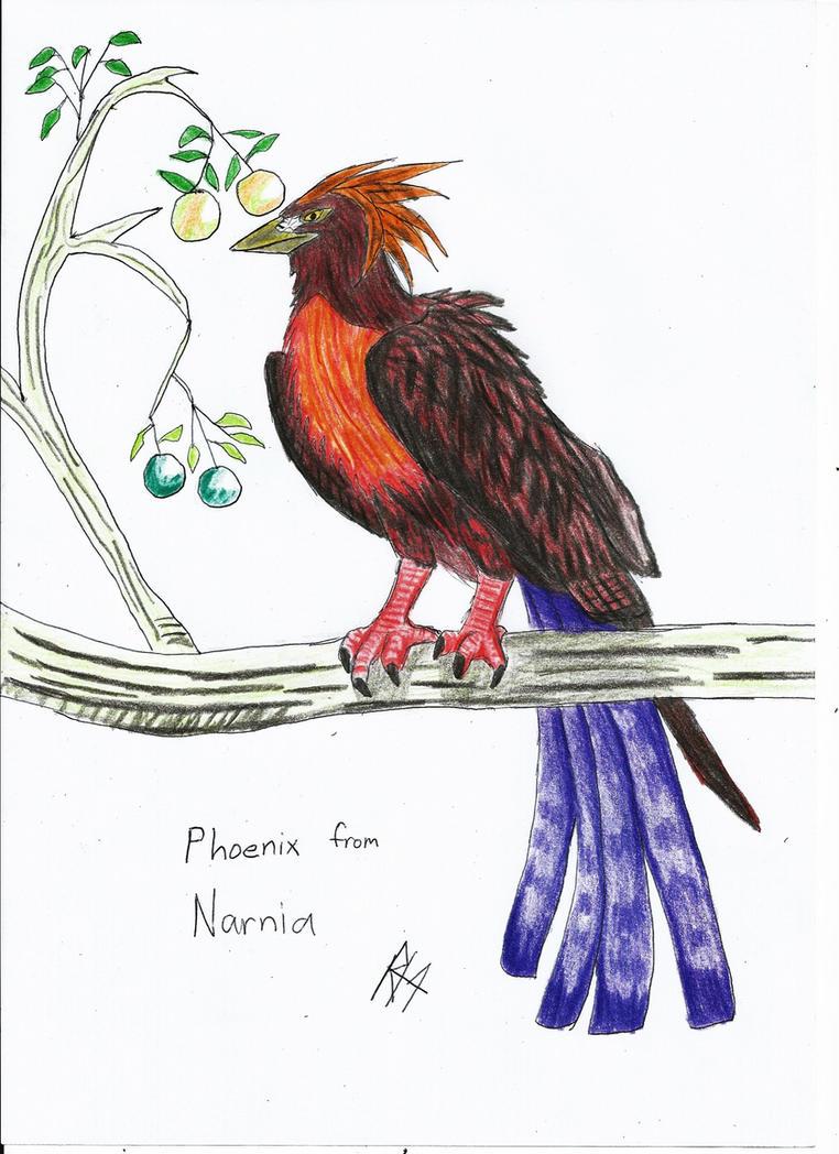 phoenix from NARNIA by RAPTORHEARTthe4