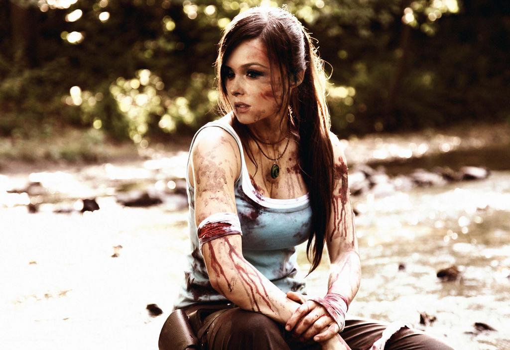 Camilla Luddington as Lara Croft by Padhead