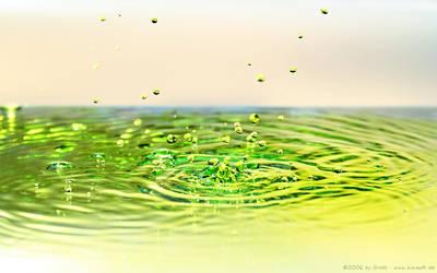 exploding green
