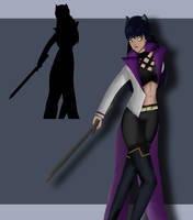 Blake Belladonna RWBY (VOLUME 5) by SammysCornerComics
