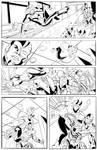Teen Titans Page 4 Pencils by Shono 1 by SammysCornerComics