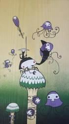 jellies by bubblegumrobot