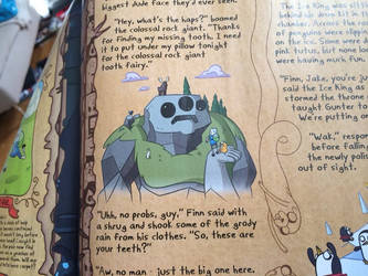 Adventure time illustration work!