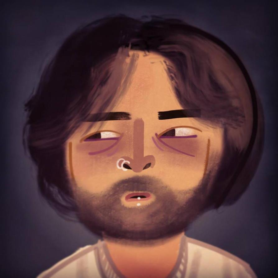 my face! by bubblegumrobot