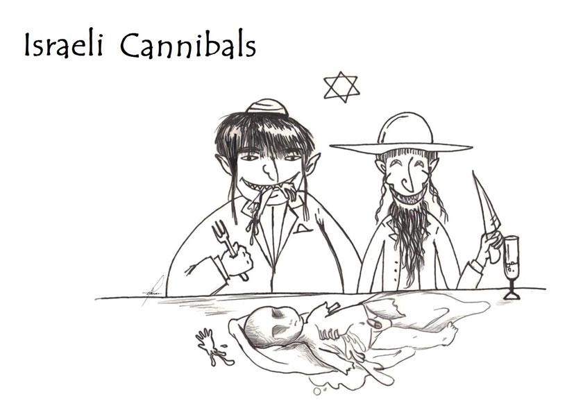 Israeli Cannibals:Zahraa-Hassa by No-More-Ignorance