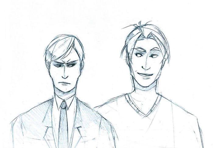 Askel and Miguel by svenoe