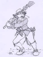 Red Shetland Muskateer, English Civil War by RABBI-TOM