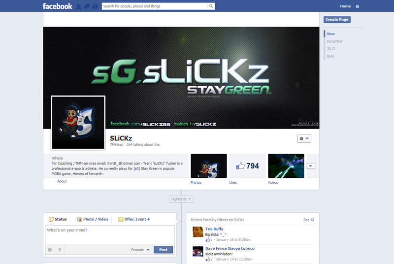sLiCKz Facebook Layout by MissyMLam