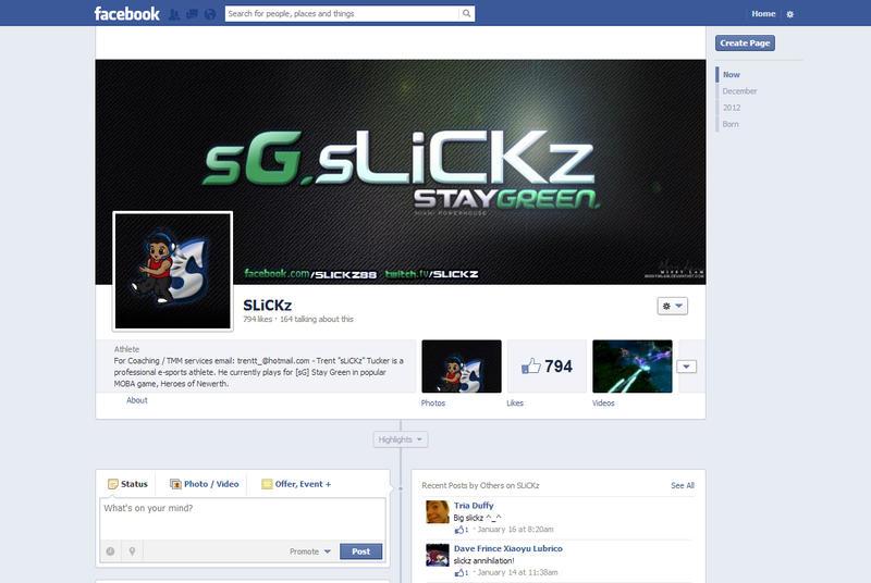 sLiCKz Facebook Layout by MissyMLam