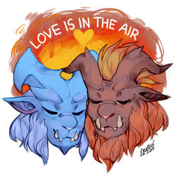 Love is in the air - Lunastra and Teostra
