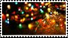 Christmas Lights Stamp
