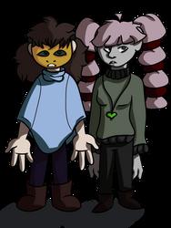 devilish little duo