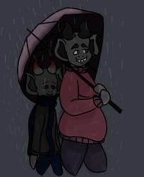 umbrella boys