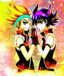 Crow and Yusei