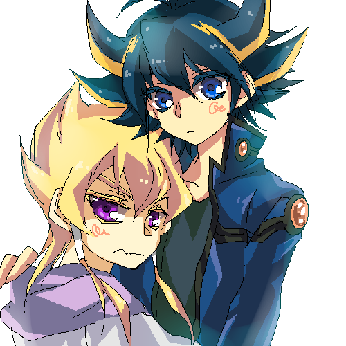 Jack and Yusei by shucanmeYugioh 5ds Yusei And Jack