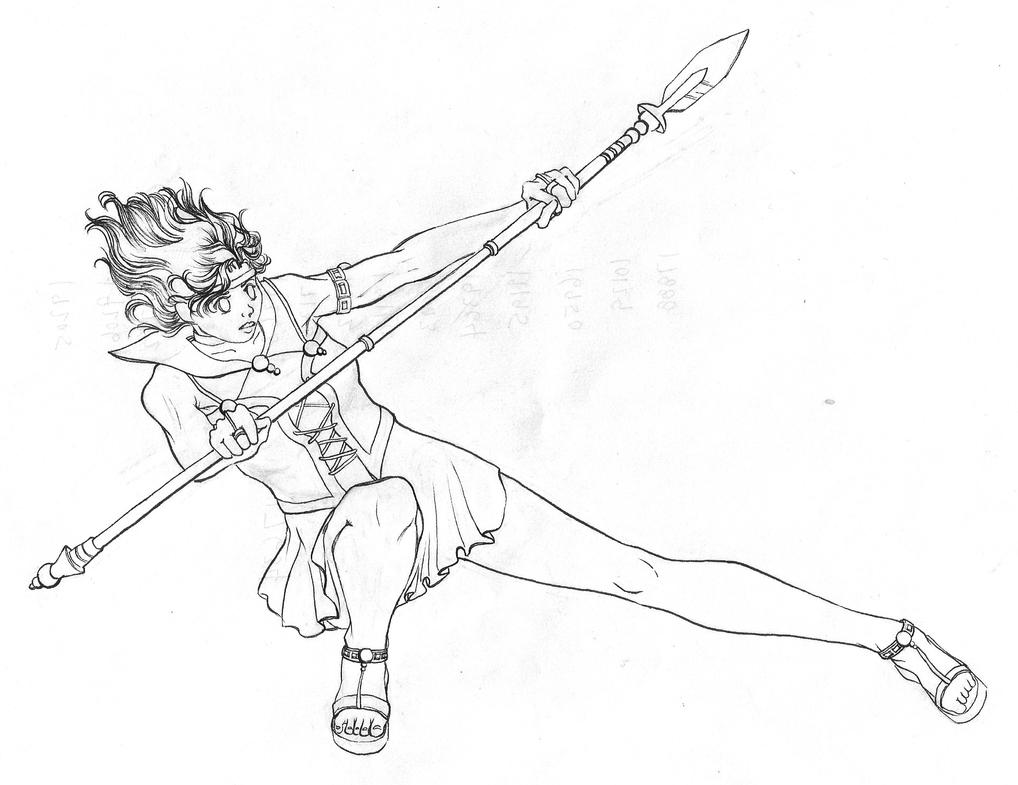 Sailor Barnard 15 Lineart by Yumecosmos