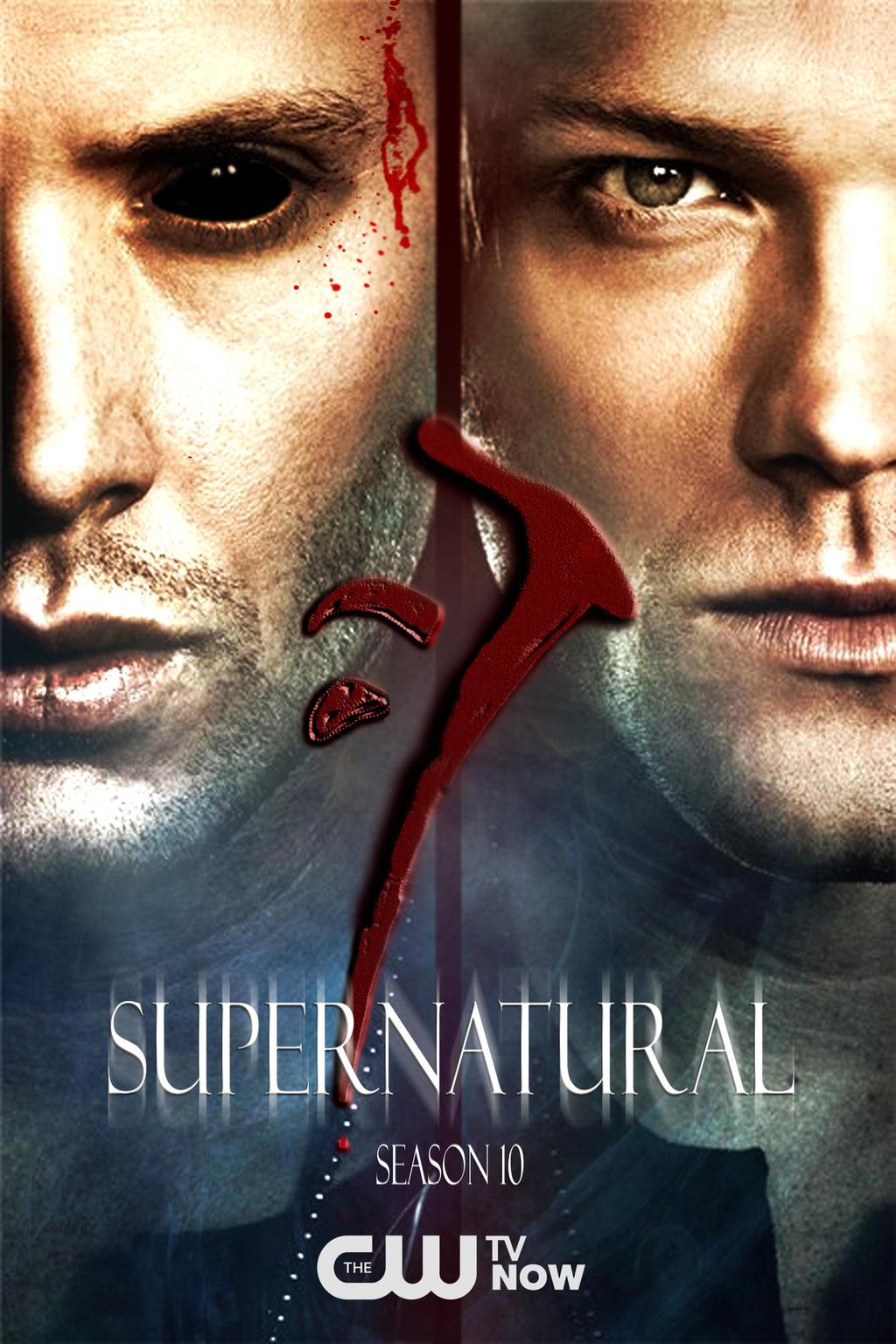 Supernatural Season 10 promo poster - fan made by beata101 ...