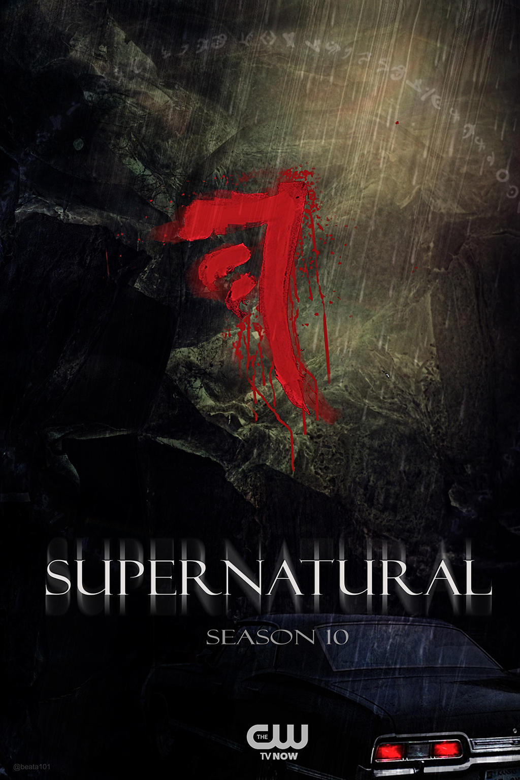 Impala Supernatural Season 10 Fan Made Poster by beata101 ...