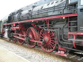 steam train 02 by kuschelirmel-stock