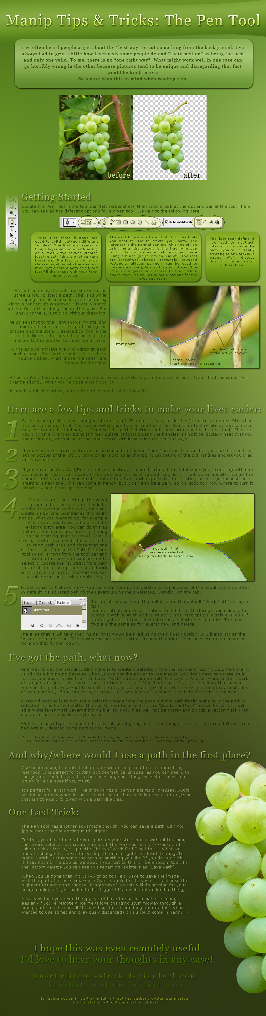 Manip Tips + Tricks: Pen Tool
