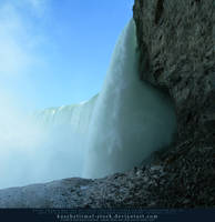 Behind the Falls by kuschelirmel-stock