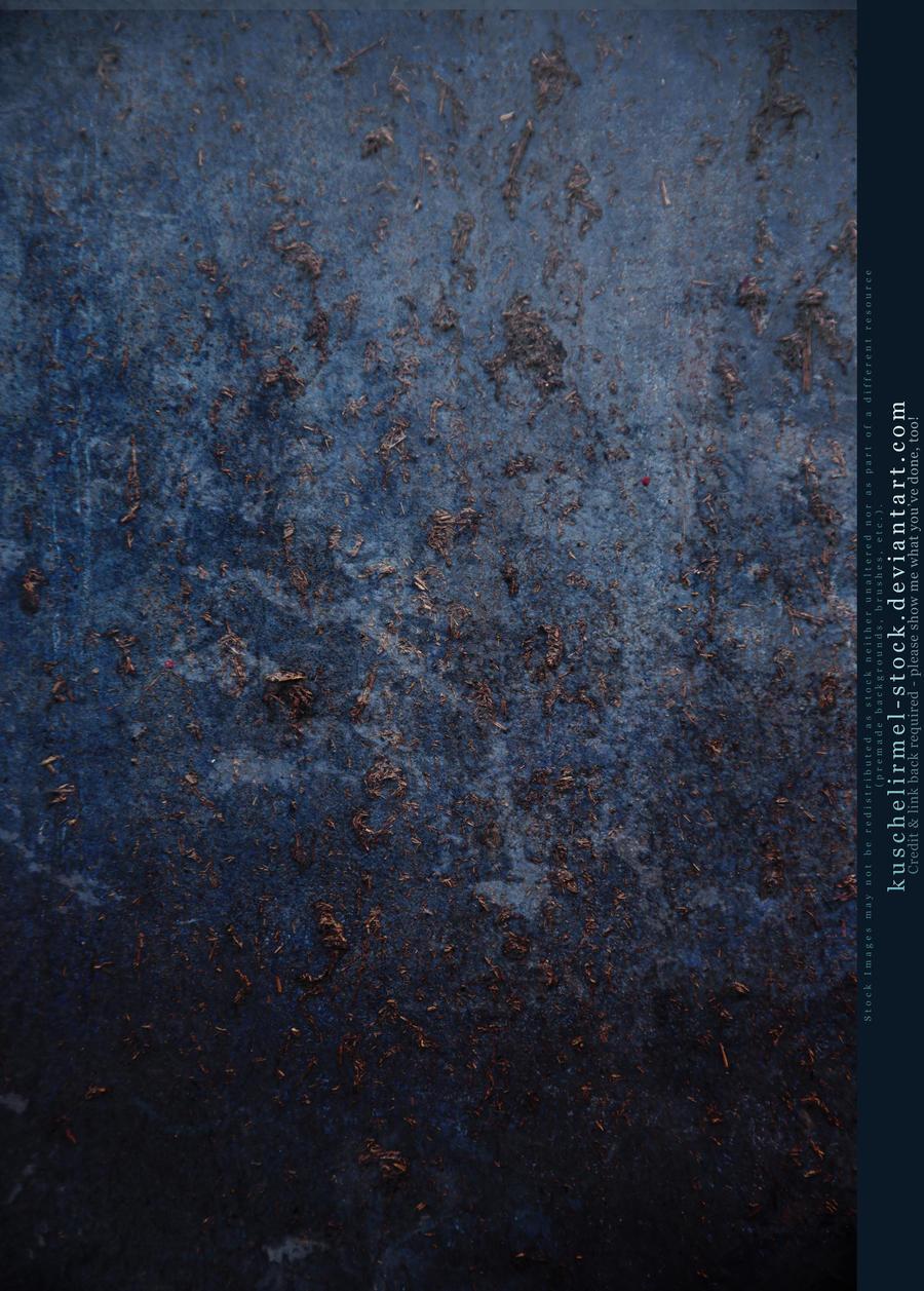 Blue Drip Grunge Texture by kuschelirmel-stock