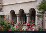 Window Arches with Flowers