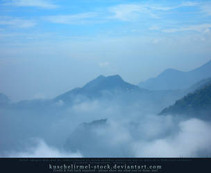 Misty Mountains 03 by kuschelirmel-stock