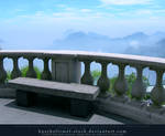 Corcovado - bench with a view