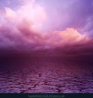 Cracked Earth Purple by kuschelirmel-stock
